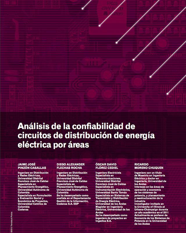 Análisis de la confiabilidad de circuitos de distribución de energía eléctrica por áreas