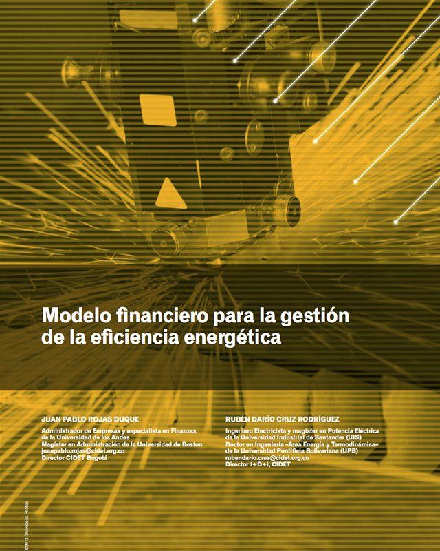 Modelo financiero para la gestión de la eficiencia energética