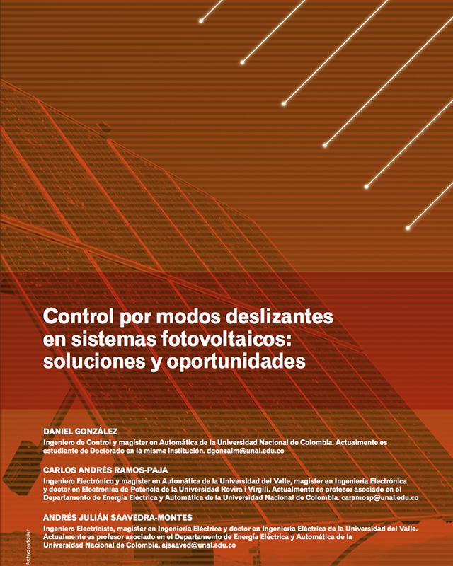 Control por modos deslizantes en sistemas fotovoltaicos: soluciones y oportunidades