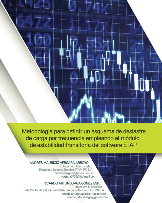 Metodología para definir un esquema de deslastre por frecuencia empleando el módulo de estabilidad transitoria del software ETAP