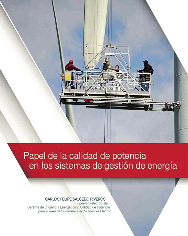 Papel de la calidad de potencia en los sistemas de gestión de energía.